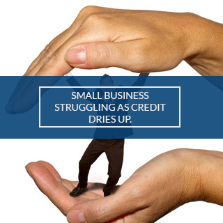 SMALL BIZ STRUGGLING
